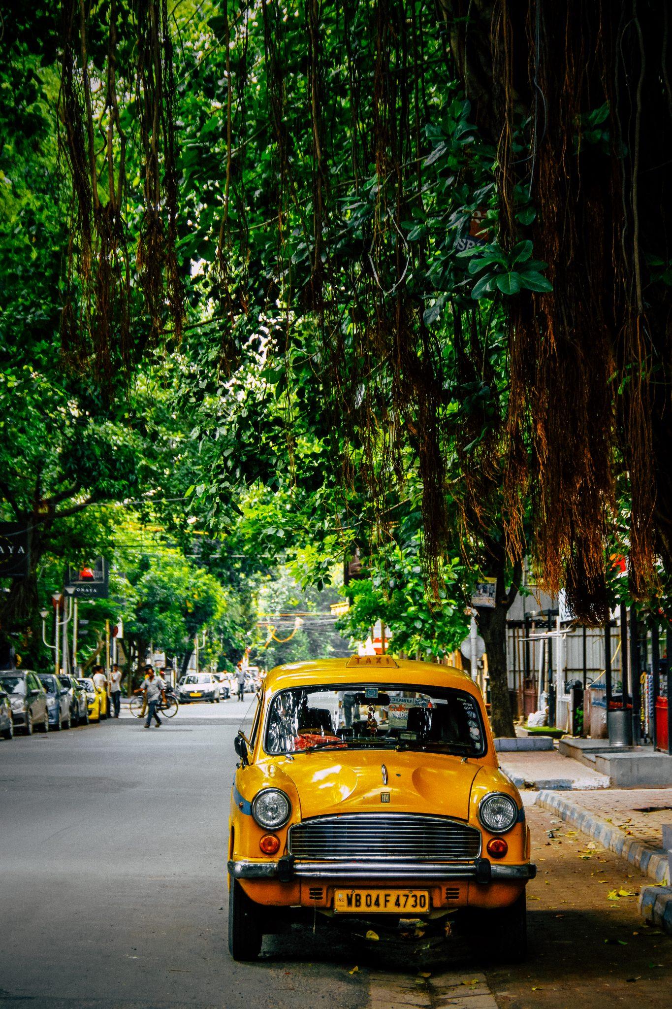 Calcutta taxy