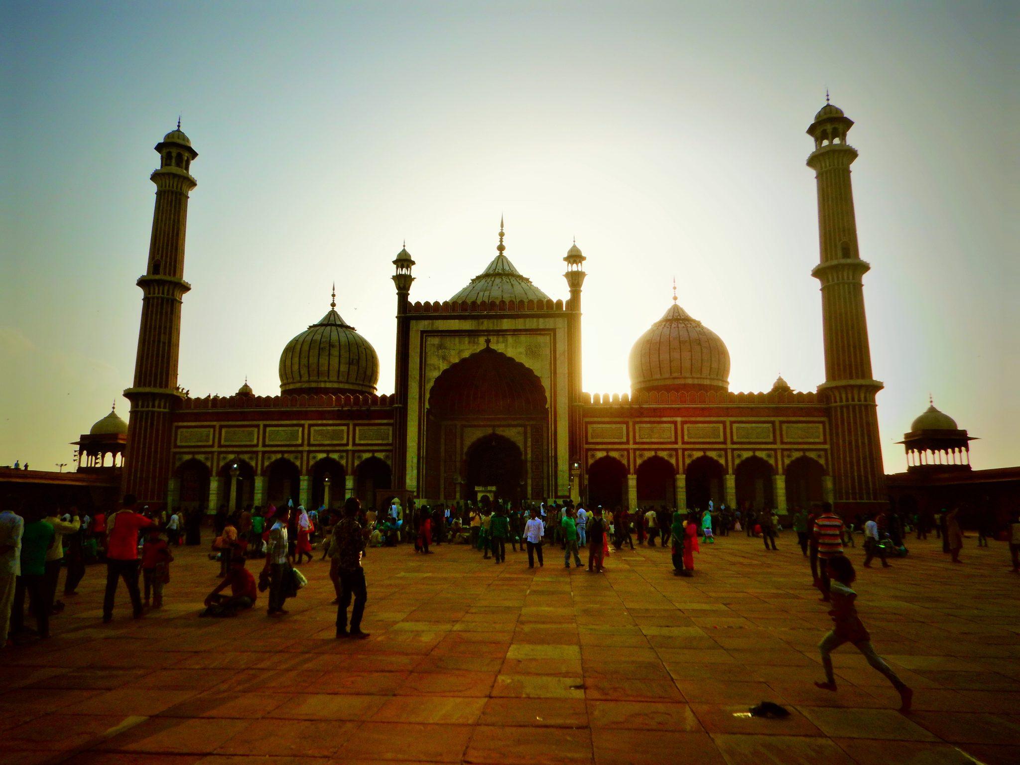 Jama Masjid, Delhi, tour budget India