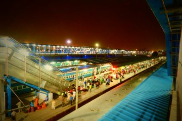 New Delhi Railway Station, tour treno India