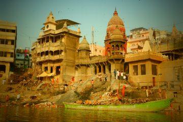 Manikarnika Ghat, Varanasi, tour India