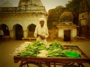 Chitrakoot, Uttar Pradesh, tour Nord India zaino in spalla