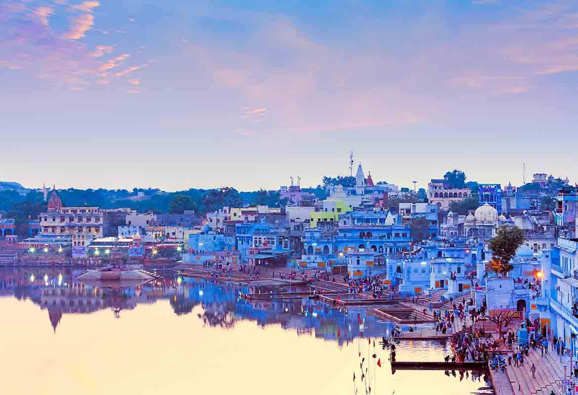 Pushkar ghats, tour India