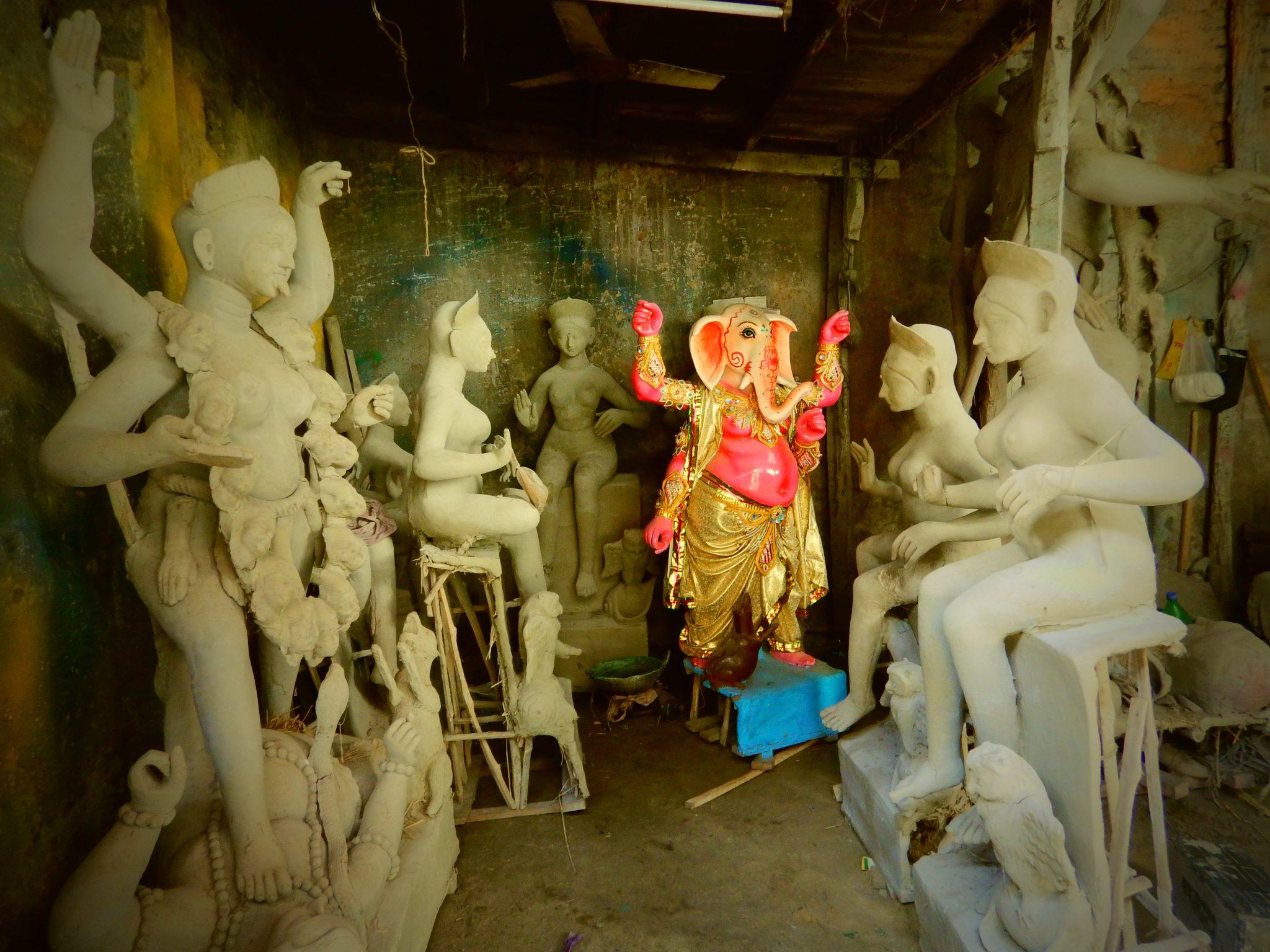 Kumartoli, Kolkata, Tour avventura India