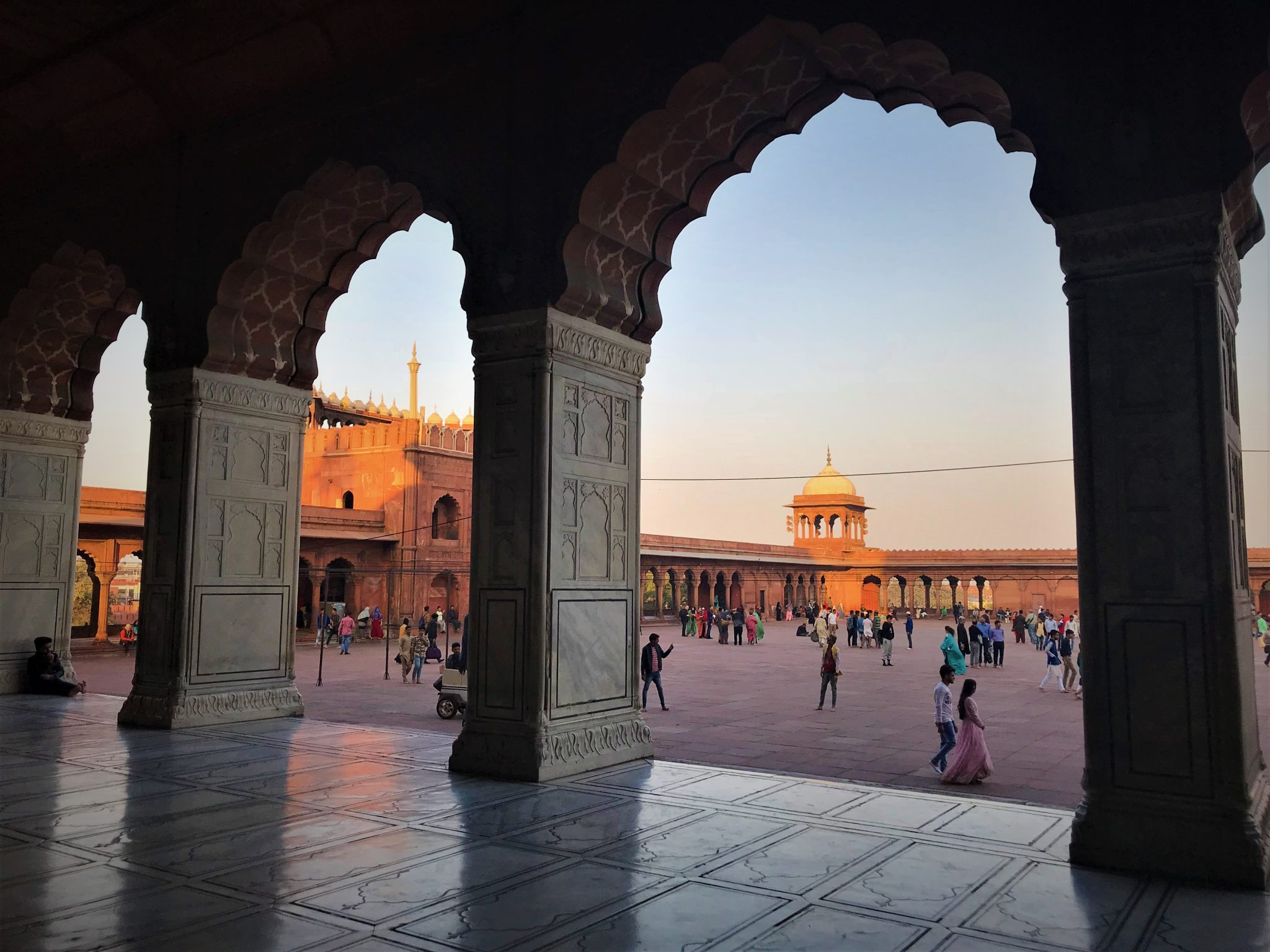 Jama Masjid, Delhi - budget tour India
