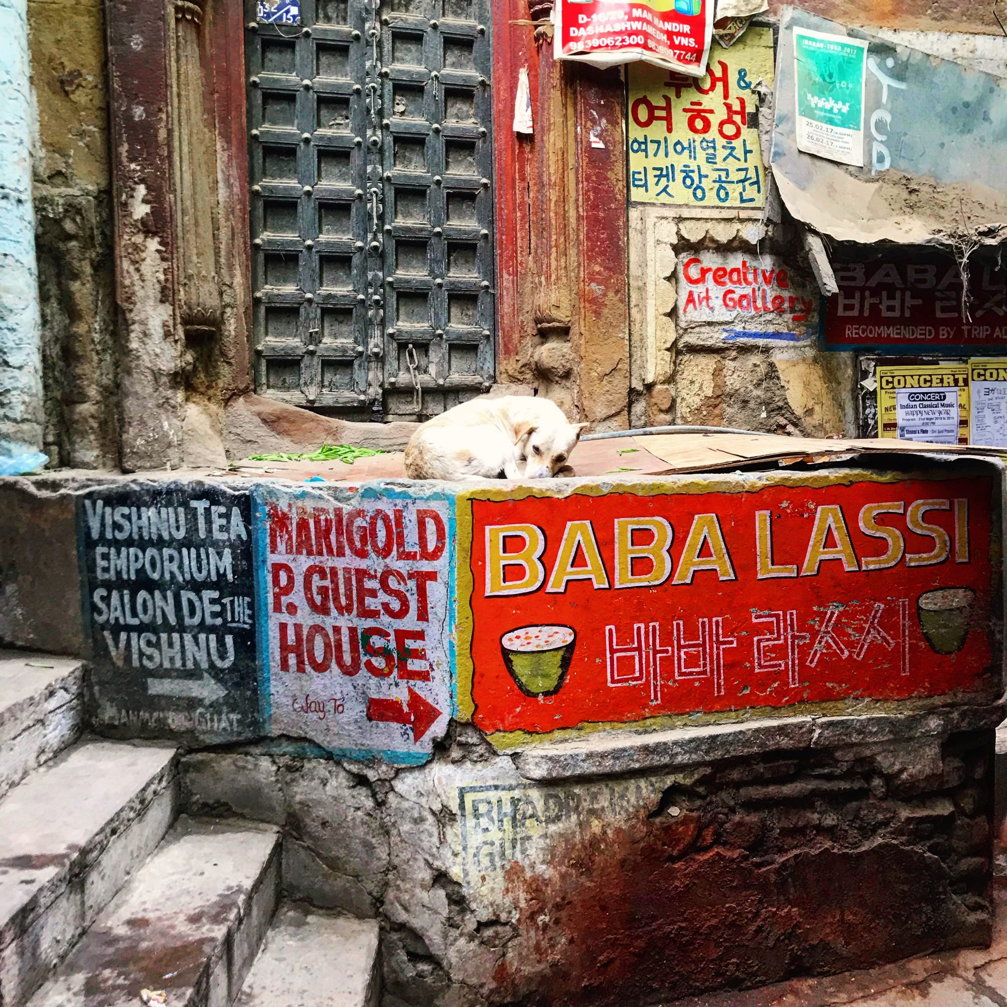 Varanasi alleys - adventure tour of India