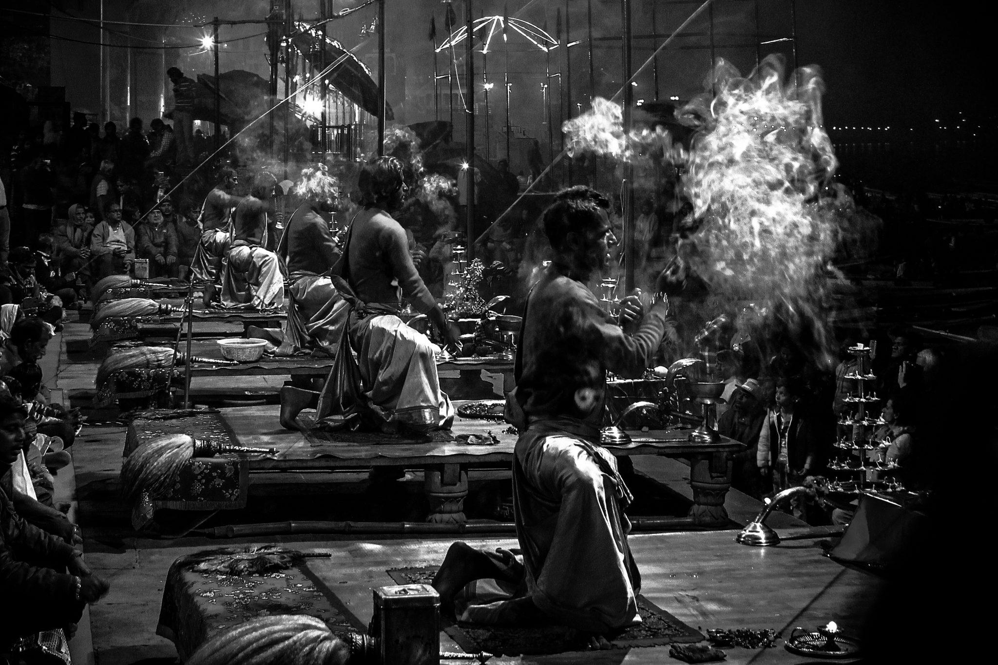 Ganga Aarti, Varanasi - tour avventura India