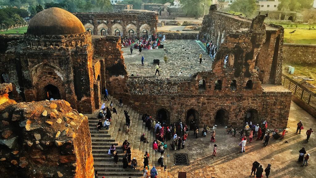 Feroz shah kotla fort - Delhi